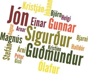 Nombres masculinos